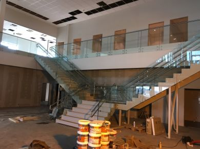 Stairs for office building