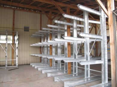 Rack system and cat ladder