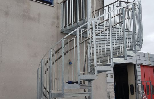 Outside stairs Hamar